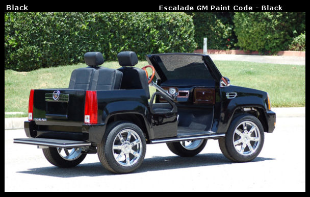 Cadillac Escalade Golf Cart : Sales, Service, Rentals and