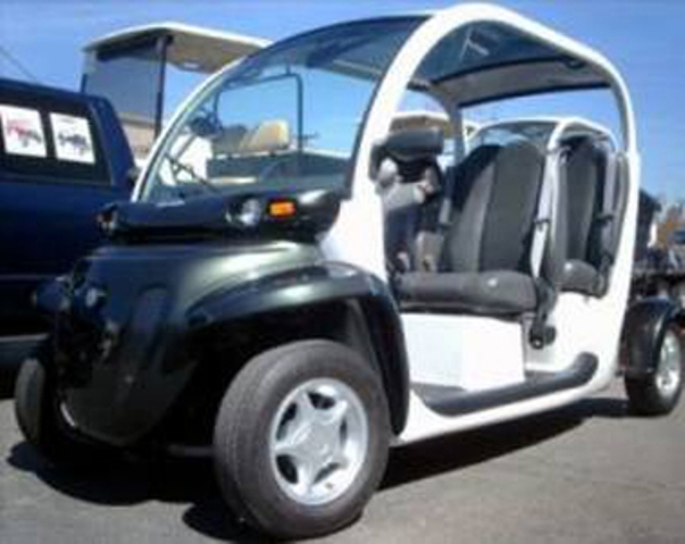 Chrysler Gem Black 4 Seater Golf Cart Lsv Carts