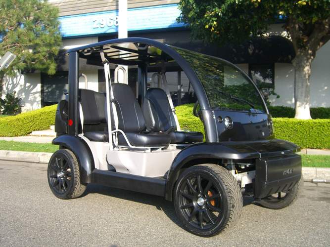 Ford Think Neighbor Black 4 Seater Golf Cart Lsv Carts
