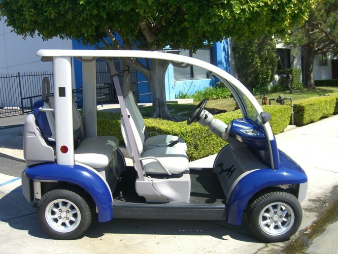 Ford Think Neighbor  Blue 4 Seater | Golf Cart  LSV Carts & Ford Think Neighbor : Golf Carts | Gallery 02 : LSV Carts : Orange ...