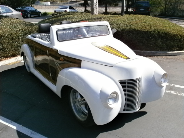 The California Roadster Woody : Electric Golf Cart   LSV Carts ... on